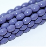 50 Czech Rice Pearls 6 x 4 mm Light Plum 48257